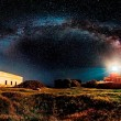 Ivan Pedretti, Italy - Starry lighthouse, Winner of the open competition - panoramic category